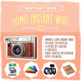 Instant'Box Lomo Wide box polaroid