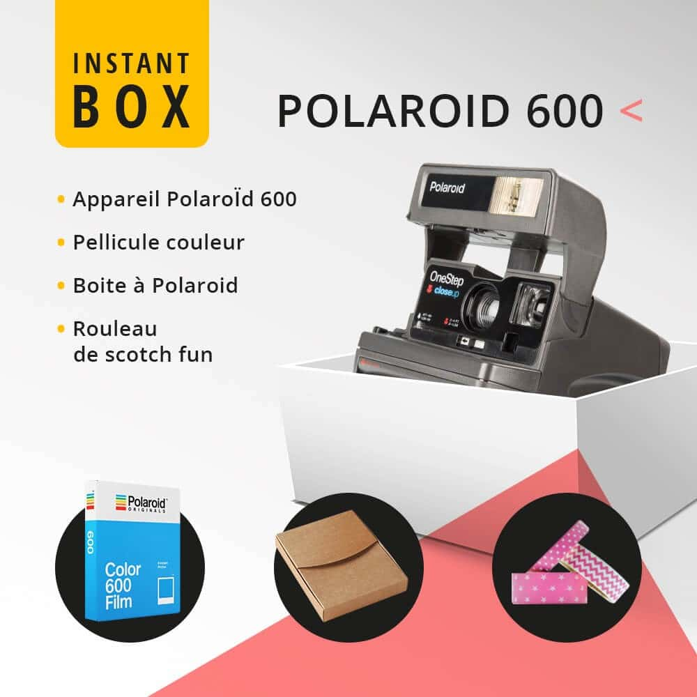Instant'Box Polaroid 600