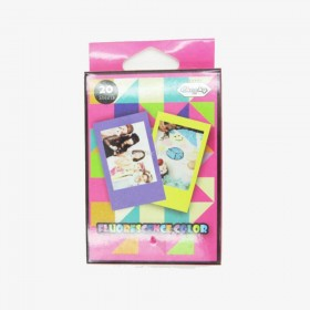 Stickers instax mini fluorescents